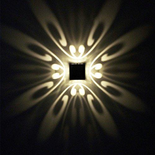Led lampada da parete 3w ac85-265v 3000k stile moderno in alluminio luci da muro up down camera da letto /bagno/interni/soggiorno/corridoio/bianco caldo lampada da parete