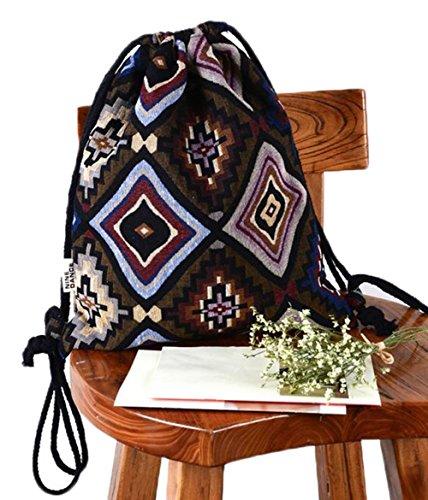Imagen de laat   de tela para mujeres y niñas con cordones y decoración geométrica, 5