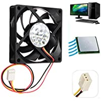 12V Internal Desktop-Computer CPU Kühlung-Gehäuse Cooler Master Silent Fan 7cm