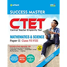 CTET Success Master Maths & Science Paper-II for Class VI-VIII