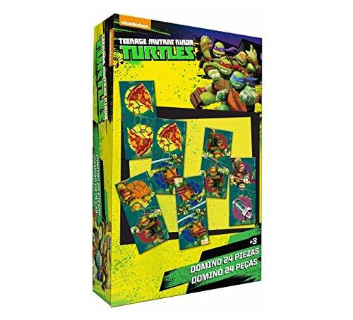 Tortues Ninja - Jeu de domino 24 pièces