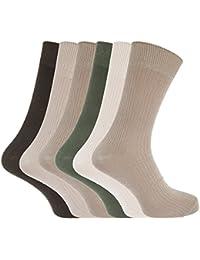 Herren Socken mit Bambus-Anteil, atmungsaktiv, 6er-Pack
