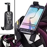 UltimateAddons Golf Sports Bag Clip Mount and Universal One Holder for Samsung Galaxy S6 S7 Edge