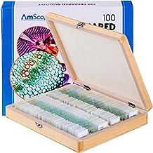 Amscope PS100E 100Homeschool Biology prepared Microscope Slides–Set e
