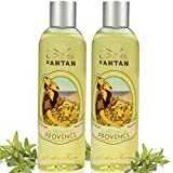 Set x2 Premium Provence French Vintage Shower Gel Pack of 2x250ml, Organic Verbena, Bergamot and Lemon. Un Air d