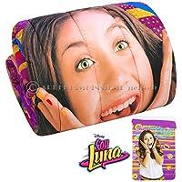 Disney original - Soy Luna - Edredón invernal de niña para cama individual