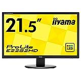 Iiyama E2282HDB1 Ecran PC LED 21,5' 1920 x 1080 5 Ms VGA/DVI