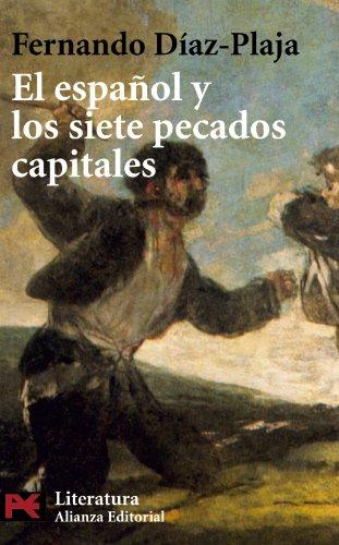El español y los siete pecados capitales (El Libro De Bolsillo - Literatura) por Fernando Díaz-Plaja
