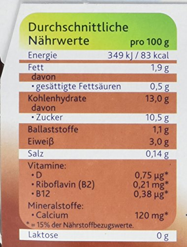 Alpro Soya Dessert Schoko mildfein, 3er Pack (3 x 500 g Packung) - 3