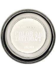 Gemey-Maybelline - Color Tattoo - Ombre à paupières Blanc - 45 infinite white