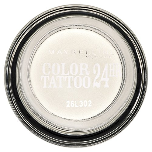Gemey-Maybelline - Color Tattoo - Ombre à paupières Blanc - 45 infinite white