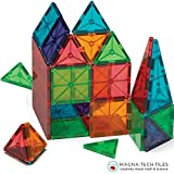 51Ldmgy %2BxL. SL160  Magnetic Block Toy To Build 3D Magnet Tile Structures   (100 Piece) Magna Color Shapes Are Kid Approved! This Learn & Play Set Is Best For Children & Toddlers, Instead Of Wooden Construction BlocksUK best buy   Reviews   Price