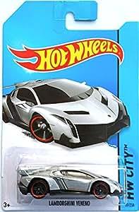 Hot Wheels 2014 HW City LAMBOGHINI VENENO 37/250 (Backing card might vary)