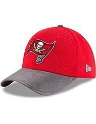 New Era NFL Sideline 39THIRTY Cap TAMBUC OTC–Linie Tampa Bay Buccaneers Herren, Rot, Herren, Nfl Sideline 39Thirty Tambuc Otc
