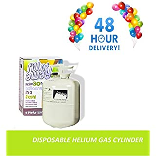 B2C Balloon Helium Gas Disposable Cylinder Canister Birthday Party Fills 50 Balloons