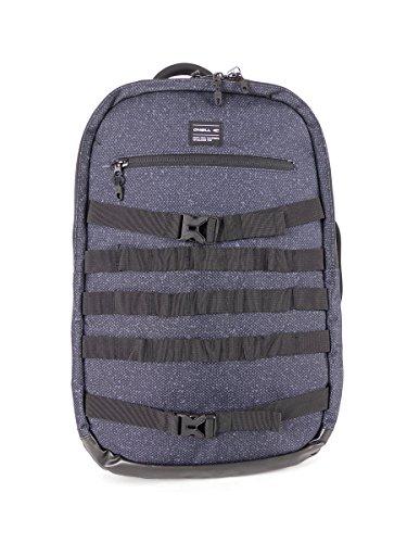 O 'Neill Mochila Laptop Bolsa Ruckus Negro de 2Vías de cremallera 30L)
