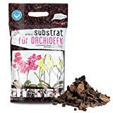 Green-PIK LAT - Substrato per orchidee, compost ecologico, miscela I importanti sostanze nutritive per fiori con bio humus I Il terriccio ideale per orchidee in giardino, camera e serra I sacco da 4 l
