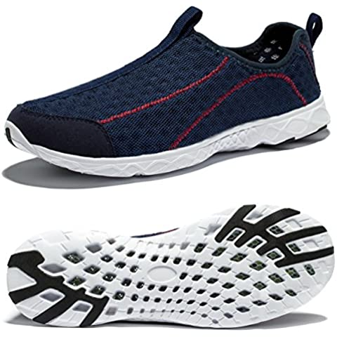 Viihahn Hombres Malla Transpirable Slip-en Los Zapatos De Secado Rápido De Agua