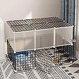 AA-GWCWWWL Cuccia per Cani di Piccola Taglia Cestello per Cane, Cucciolo di Coniglio Coniglietto di Gatto, Guinea Pigna, Indoor & Outdoor