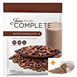 Juice Plus Complete Chocolate Shake 525 gram Pouch With Free Official Juice Plus Scoop RRP £4.99 immagine