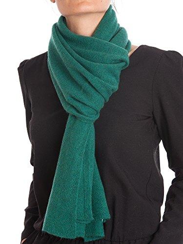 Dalle Piane Cashmere - Schal aus 100% Kaschmir - für Mann/Frau, Farbe: Grün, Einheitsgröße (Grün Frau)