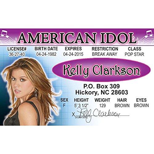 Preisvergleich Produktbild Schilder 4 Fun nroidk Kelly Clarkson 's Lizenz