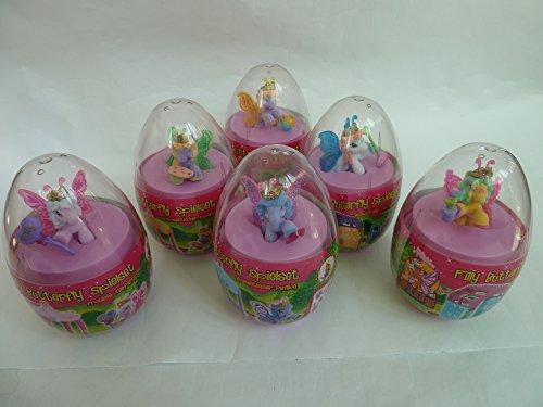 6 verschiedene (alle) Filly Butterfly Spielsets (im Mega-Ei): 2x fröhliche Teeparty, 2x...