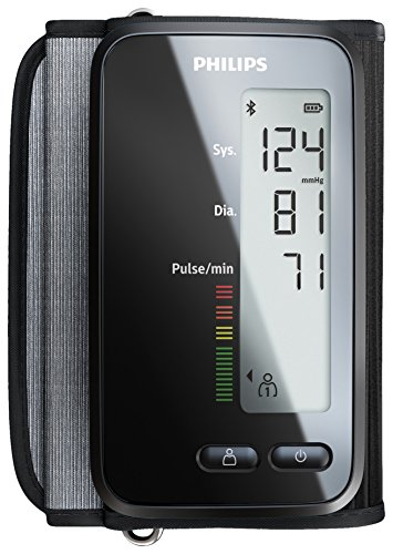 Philips Smart Schwarz DL8760/15 Oberarm BPM mit Bluetooth