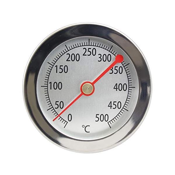 Lantelme 2840 Termómetro para horno (hasta 500 ºC) Analógico