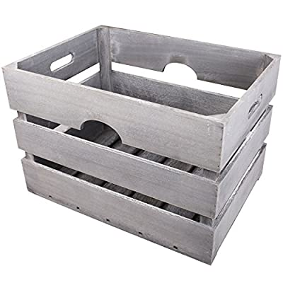 Bulk Wooden Crate Storage Box/planter/shelves Etc - low-cost UK light store.