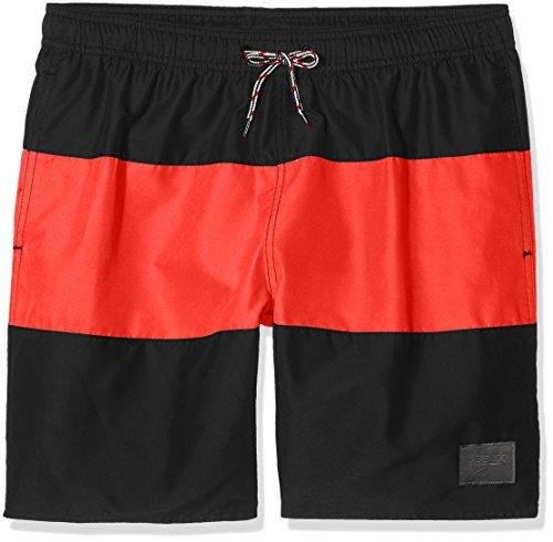 Speedo Jungen Panel Freizeit Wasser Shorts, Jungen, Panel Leisure, Alphafusion Black/Lava  Preisvergleich