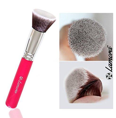 Make-Up Pinsel Kabuki - Ideal für Cremige, Pudrige oder Flüssige Foundation - Dichte Synthetische...