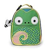 Skip Hop Zoo Lunchie Mini Vespertasche für den Kindergarten, isoliert, mit Namensschild, mehrfarbig, Chamäleon Cody