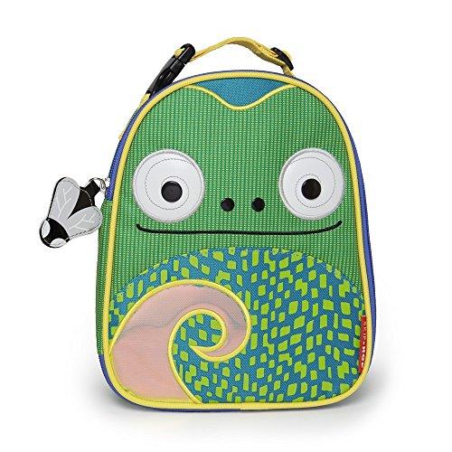 Skip Hop 212126Zoo Chameleon–Bolsa térmica infantil, diseño de camaleón
