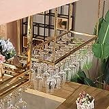MTX Ltd Weinregale Wandregal Metall Decke Rack Lagerung Hängen Wandbehang Dekoration Restaurant/Familie/Bar Anwendung, um Jeden Raum zu Ergänzen, 120 cm * 35 cm