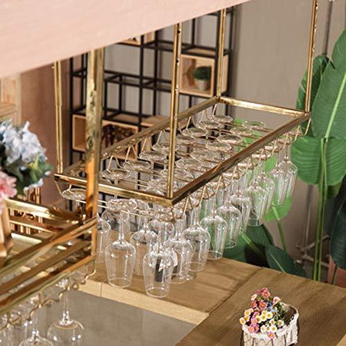 Ovale Metall-schimmel (MU Restaurant Weinregal, dekorative Weinregal, Weinregale Wandregal Metall Deckenregal Lagerung Hängen Wandbehang Dekoration Restaurant/Familie/Bar Anwendung, um jeden Raum zu ergänzen,120 cm * 3)