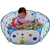 Preisvergleich für Kinder Ball Pit, TD Großes Pop Up Kleinkind Ball Pits Zelt für Kleinkinder, Kinder für Indoor Outdoor Baby Laufstall mit Reißverschluss Aufbewahrungsbeutel, Bälle nicht inbegriffen