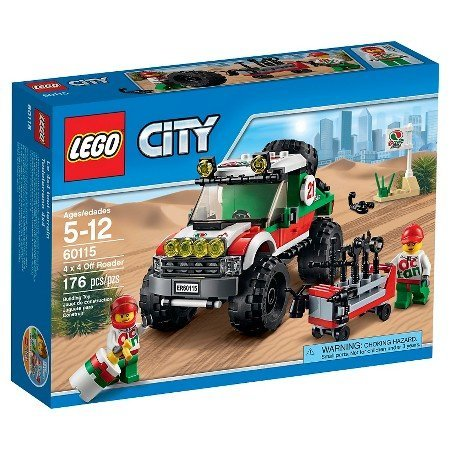 LEGO City 4x4 Off Roader 60115 For Cross The Finish Line & Win by Illuminations