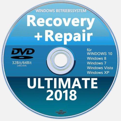 Recovery & Repair CD DVD für Windows 10, 8, 7, XP - LG, HP, Acer uvm. ✔ 2018 (Xp Recovery Cd)