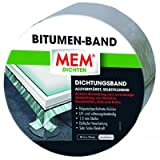 MEM 500482 Bitumen Band 10m x 150 mm alu