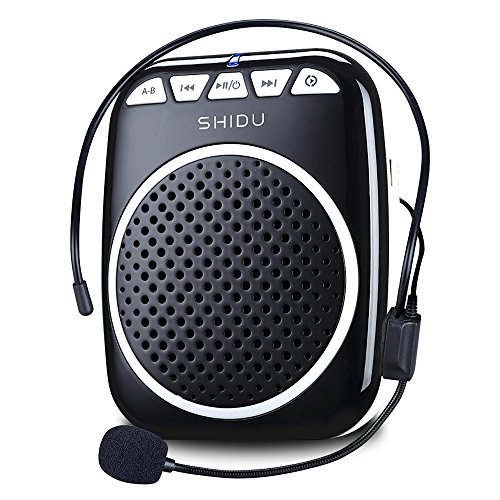 Recbot Amplificador de Voz portátil Diadema con micrófono Cable Formato de Audio...