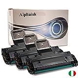 Alphaink AI-KIT3-MLT-D1082S - 3 Toner compatibili per Samsung MLT-D1082S ML1640, ML2240, ML1641, ML2241 Capacità 3000 copie