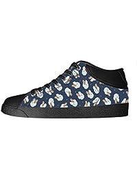 Dalliy Schaf Muster Men's Canvas shoes Schuhe Lace-up High-top Sneakers Segeltuchschuhe Leinwand-Schuh-Turnschuhe