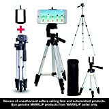 "#10: Marklif 360-1050mm Adjustable 1/4"" Screw Mini Aluminum Alloy Tripod Stand Holder for Camera Mobile Phone"