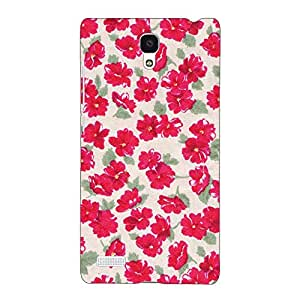 Jugaaduu Floral Pattern Back Cover Case For Redmi Note 4G