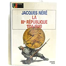 La république IIIe 1914-1940