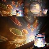 HUAYANG Schöne LED Nachtlicht Romantische Meer Himmel Sternenhimmelprojektor Lampe Dekoration