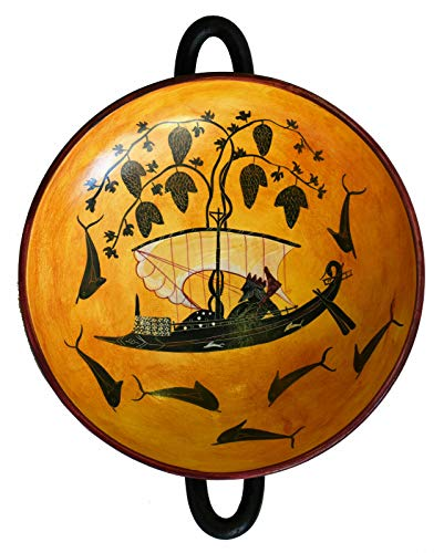 Talos Artifacts Dionysus Crossing The Sea Black Figure Petit Vase Kylix – Exekias Munich Museum