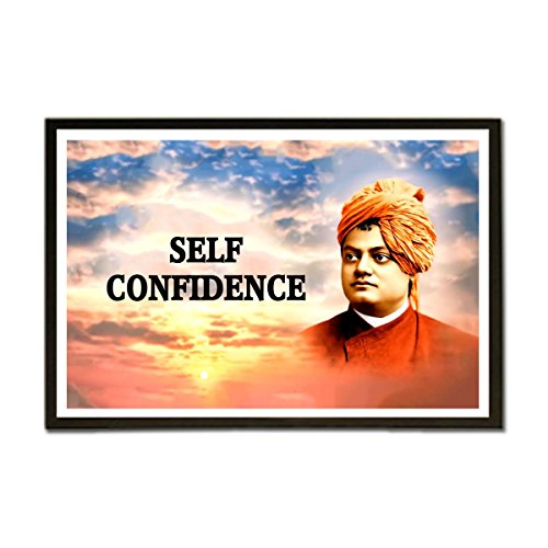 ezyPRNT Swami Vivekanand Quotes Framed Poster (Size: 19x13 inch)  available at amazon for Rs.745