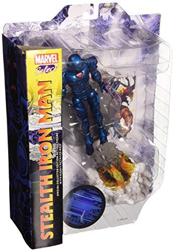 Marvel Comics- Iron Man Stealth Figurine, MAR088261, Divers, 18 cm